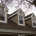 After - Siding On Front Dormers