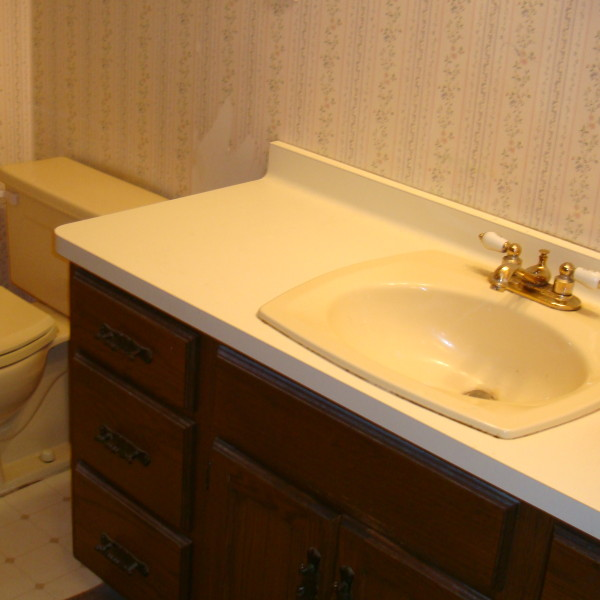 Before Bathroom Cabinet