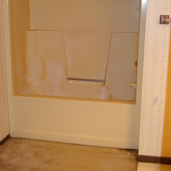 Before Bathroom - Tub Replacement
