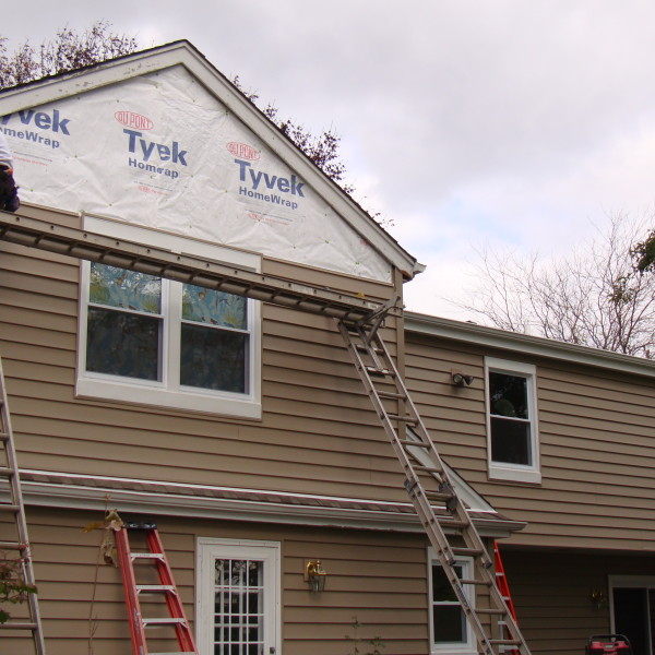 During Back Siding