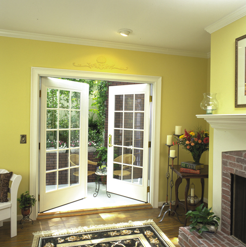 custom french doors