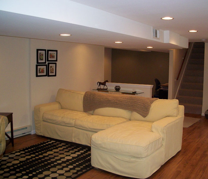 completed basement