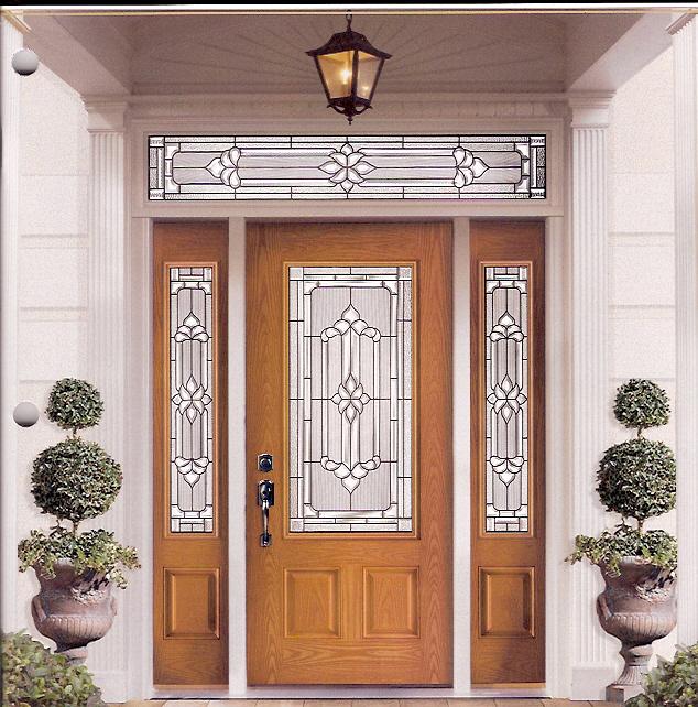 exterior kitchen door with window home design