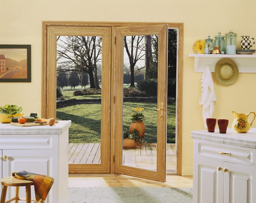 french doors for patio install